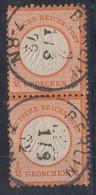 DR Minr.2x 14 Senkr. Paar Berlin 1.8.72 - Deutschland