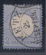DR Minr.5 Hufeisenstempel Metz Spalink 25/1 - Oblitérés
