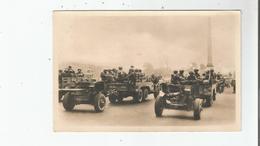 LIBERATION DE PARIS (1944) 15 CARTE PHOTO L'ARTILLERIE DE CAMPAGNE AMERICAINE PLACE DE LA CONCORDE - Weltkrieg 1939-45