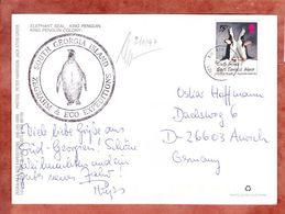AK Zuegelpinguin, EF, Zegrahm & Eco Expeditions, King Edward Point Nach Aurich 1996 (50873) - Südgeorgien
