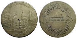 01691 GETTONE TOKEN JETON OETTINGER MARKPLATZ TOKEN THAT INDICATES - Allemagne