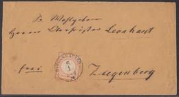 DR Brief Ortsporto EF Minr.18 K1 Witzenhausen 6.1. - Briefe U. Dokumente