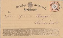 DR Karte EF Minr,18 K1 Jena 12.11. Gel. Nach Lüdenscheid - Briefe U. Dokumente