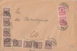 DR Brief Mif Minr.8x 313,2x 317 Fritzlar 25.10.23 - Deutschland