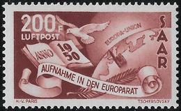 SARRE Poste Aérienne N°13**,  200f Luxe - Poste Aérienne