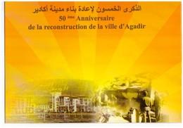 Maroc  Album N° 1544 De 2010 Timbre + FDC Cinquantenaire Agadir - Marruecos (1956-...)