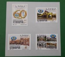 ETHIOPIA ETHIOPIE ¤ DELUXE PROOF EPREUVE DE LUXE ¤ 2014 60TH ANNIVERSARY GONDAR UNIVERSITY ¤ ULTRA RARE - Ethiopie