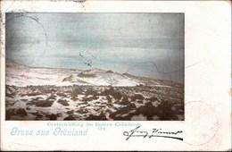 ! Alte Ansichtskarte Gruss Aus Grönland, Greenland, 1899 - Greenland