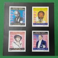 ETHIOPIA ETHIOPIE ¤ DELUXE PROOF EPREUVE DE LUXE ¤ 2010 ETHIOPIAN WRITERS ¤ ULTRA RARE - Ethiopie