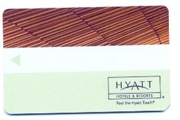 Hyatt Hotels, Used  Magnetic Hotel Room Key Card # K-32 - Hotel Keycards