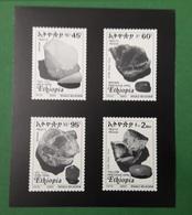 ETHIOPIA ETHIOPIE ¤ DELUXE PROOF EPREUVE DE LUXE ¤ 2003 OPAL OPALS MINERALS STONES ROCKS ¤ ULTRA RARE - Ethiopie