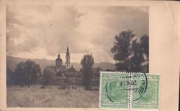 Villach Kreuzkirche  : Timbre Zegel Stamp On Front - Entiers Postaux