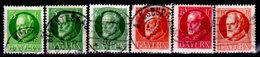 Germany, Bavaria 1914-1920, King Ludwig III (6 From Series 94-108) Used, Some Hinge Residue - Bavaria
