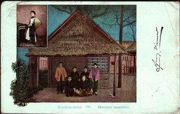 ! Alte Ansichtskarte Cochinchine, 1900, Vietnam, Asien, Asia - Vietnam
