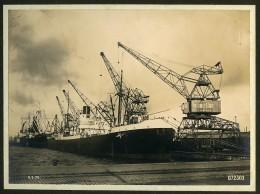 Dunkerque Album 21 Photographies Des Grues Allemandes MAN Nuremberg 1931 - Albums & Collections