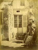 France Paris Portfolio 27 Photographies Durandelle Sculptures Du Château De Bercy 1870 - Albums & Collections
