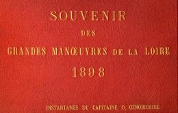France Gennetines Grandes Manoeuvres Militaire 1898 Album 56 Photos De Dimitri Oznobichine - Albums & Collections