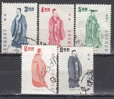 TAIWAN 1972 - MiNr:915-952 Lot 5x  Used - 1945-... Republik China