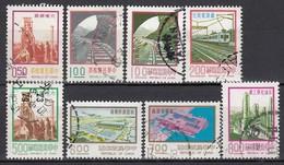 TAIWAN 1974 - MiNr: Ab 1043  Lot 8 X  Used - 1945-... Republik China