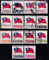 TAIWAN 1978 - MiNr: Ab 1264  Lot 14 X  Used - 1945-... Republik China