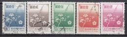 TAIWAN 1979 - MiNr: 1291-1294+1613  Used - 1945-... Republik China
