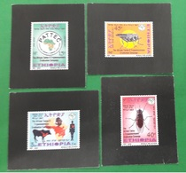 ETHIOPIA ETHIOPIE ¤ DELUXE PROOF EPREUVE DE LUXE ¤  2009 Pan African Tsetse & Trypanosomiasis Campaign ¤ ULTRA RARE - Ethiopie