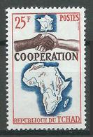Tchad YT N°101 Coopération Neuf ** - Tsjaad (1960-...)