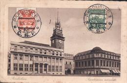 Pardubice Smetanovonamesti  : Timbre Zegel Stamp On Front - Entiers Postaux