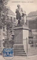 Dordrecht Standbeeld Ary Scheffer : Timbre Zegel Stamp On Front - 1891-1948 (Wilhelmine)