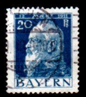Germany, Bavaria 1911, Liupolt, #80, Used, No Hinge Residue - Bavaria