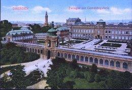 Dresden Zwinger Mit Gemäldegalerie - Dresden