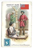 CHROMO - CHOCOLAT IBLED - La Poste Aux Indes Anglaises - Ibled