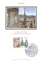 """"""" DIJON """" Sur Carte Maximum En Soie De 2006 N° YT 3893. Parfait état CM - Cartas Máxima"""