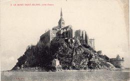 LE MONT SAINT-MICHEL  -  Côté Ouest - Le Mont Saint Michel