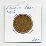 Danimarca - 1925 - 1 Corona - Vedi Foto - (FDC9541) - Danimarca