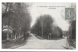 78 - LOUVECIENNES - ROUTE DE SAINT-GERMAIN ET DE MARLY - Louveciennes