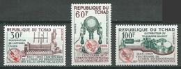 Tchad YT N°110/112 Union Internationale Des Télécommunications Neuf ** - Tsjaad (1960-...)
