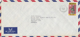 Kenya Air Mail Cover Sent To Germany 16-8-1979 Single Franked - Nigeria (1961-...)