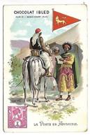 CHROMO - CHOCOLAT IBLED - La Poste En Abyssinie - Ibled