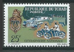 Tchad YT N°113 Gendarmerie Nationale Neuf ** - Tsjaad (1960-...)