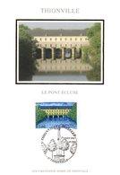 """"""" THIONVILLE """" Sur Carte Maximum En Soie De 2006 N° YT 3952 Parfait état CM - Cartas Máxima"""