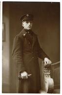 Carte Photo - Scoutmaster Georges VANKERKHOVEN En Ambulancier De La Croix-Rouge - 1915 - Scouts - 2 Scans - Croix-Rouge