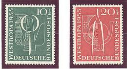 Allemagne: Entre Yvert N° 93/94**; MNH; Cote 20.00€ - Unused Stamps
