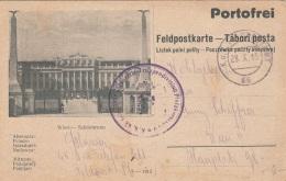 Bildpost FELDPOSTKARTE Wien Schönbrunn Mit Sonderstempel K.K. …wehr Infanterie Truppendiv.Platzko…, Feldpo - 1914-18