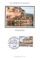 """"""" LA ROQUE-GAGEAC """" Sur Carte Maximum En Soie De 2005 N° YT 3809 Parfait état CM - Cartas Máxima"""