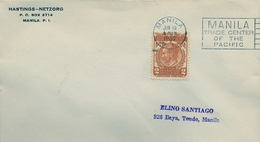 1930 , FILIPINAS , MANILA TRADE CENTER OF THE PACIFIC - Filipinas