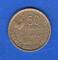 50  Fr  1954  Ttb  + - France