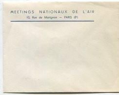 Deux Enveloppes Meetings Nationaux De L'Air - Postmark Collection (Covers)