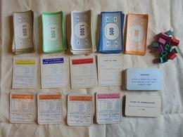 Ancien Reste De Pièces Du Jeu Monopoly - Jeux De Société