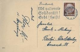 1934 , ALEMANIA , CHARLOTTENBURG - BERLIN , TARJETA POSTAL CIRCULADA - Alemania